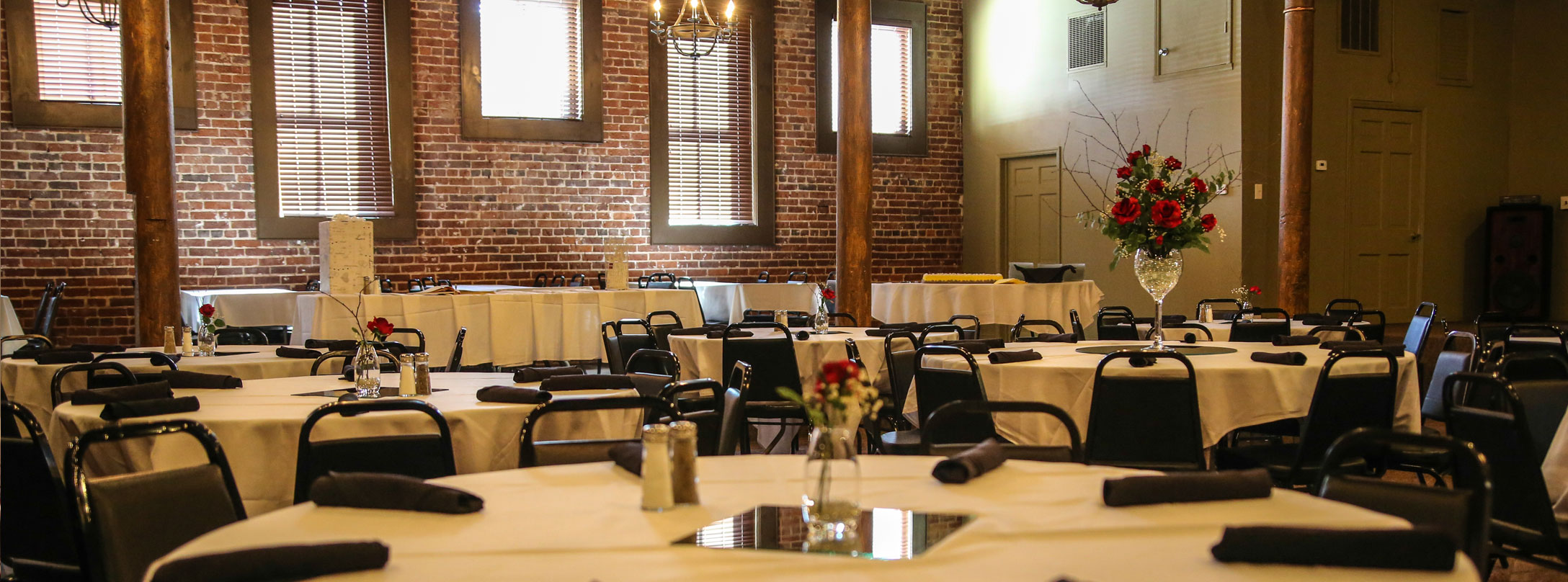 Twisted Oak's Banquet room